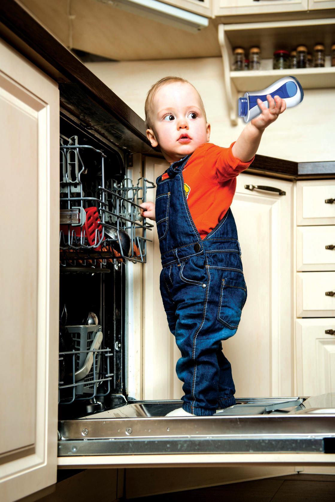 Pranje bočice u perilici posuđa